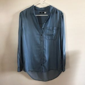 BDG Denim Button Down Shirt